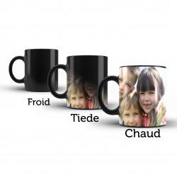 Mug magique personnalisé avec photo