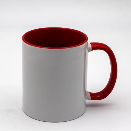 Mug couleur personnalisé avec photo