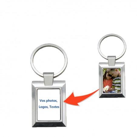 Porte clé rectangle personnalisé rectangulaire