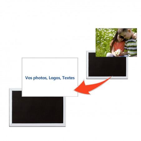 Magnette photo personnalisé rectangulaire