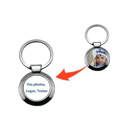 Porte clé personnalisé rond